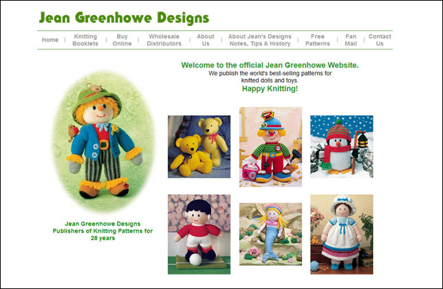Jean Greenhowe Designs